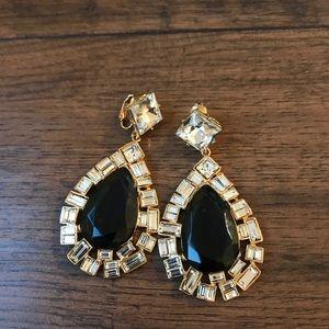 Kenneth Jay Lane statement earrings. NEW